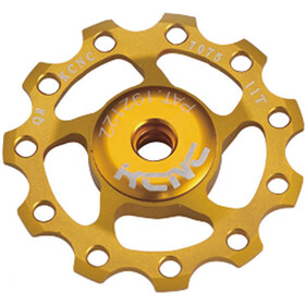 KCNC Jockey Wheel 11T Ceramic Bearing, gold